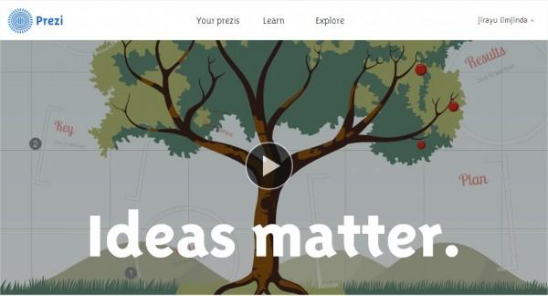 Prezi - Ideas matter