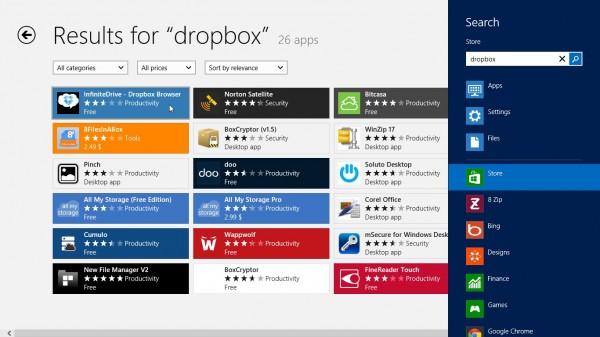 Search-result - Windows 8