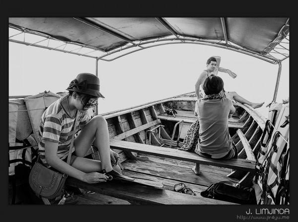 เหมาเรือหางยาวเที่ยวกระบี่