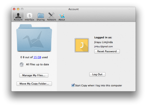 ตั้งค่า desktop app - copy.com