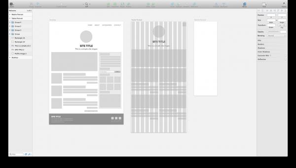 WordPress sketch Grid layout
