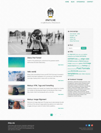 Jaturong Responsive WordPress Theme