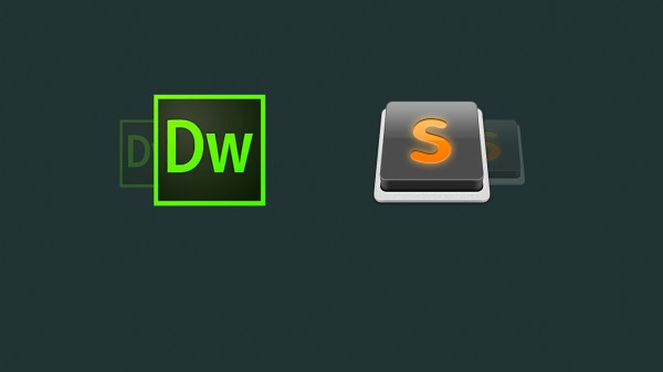 Dreamweaver and Sublime Text