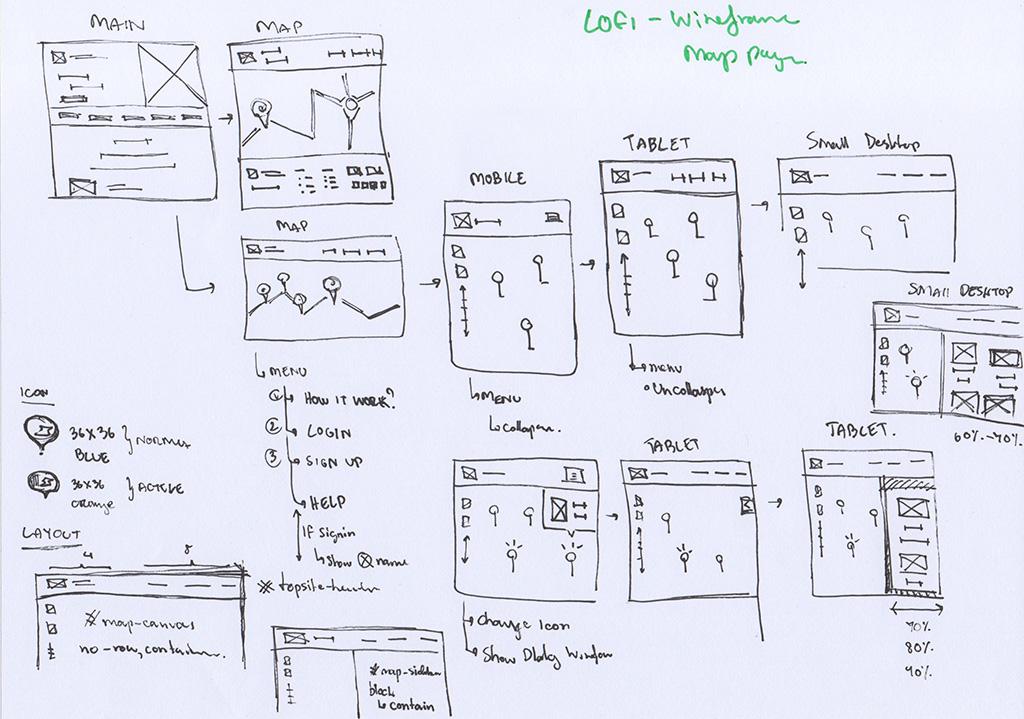 lofi-wireframe - Responsive full-width map