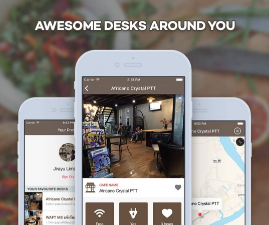 Wood Desk iOS app