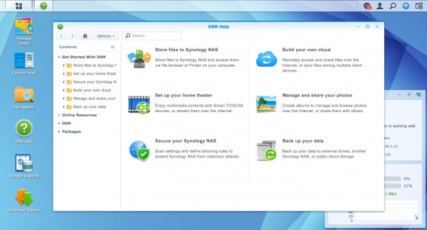 synology interface