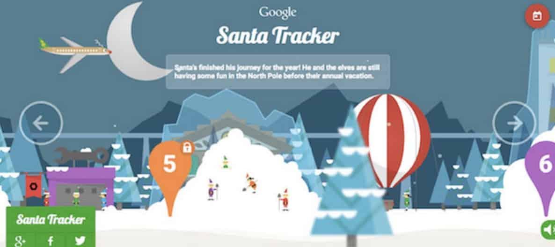 Google Santa Tracking