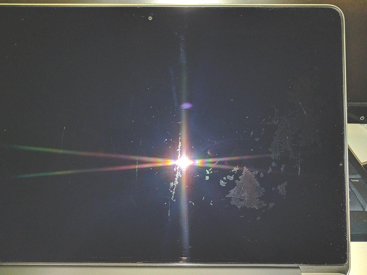 macbook-จอลอก