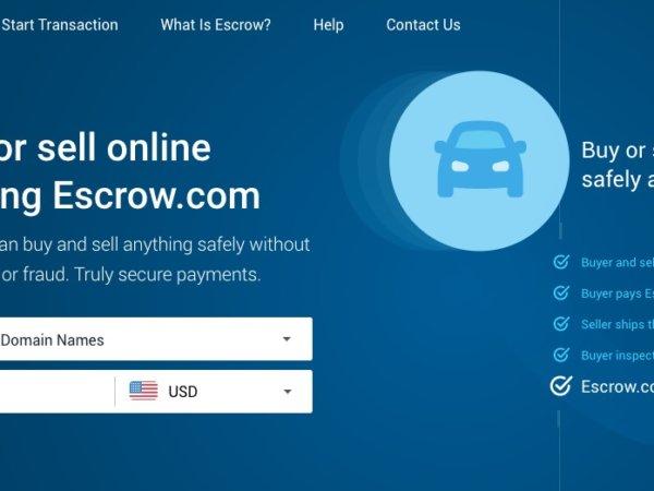 ขายโดเมนแบบปลอดภัยด้วย Escrow.com