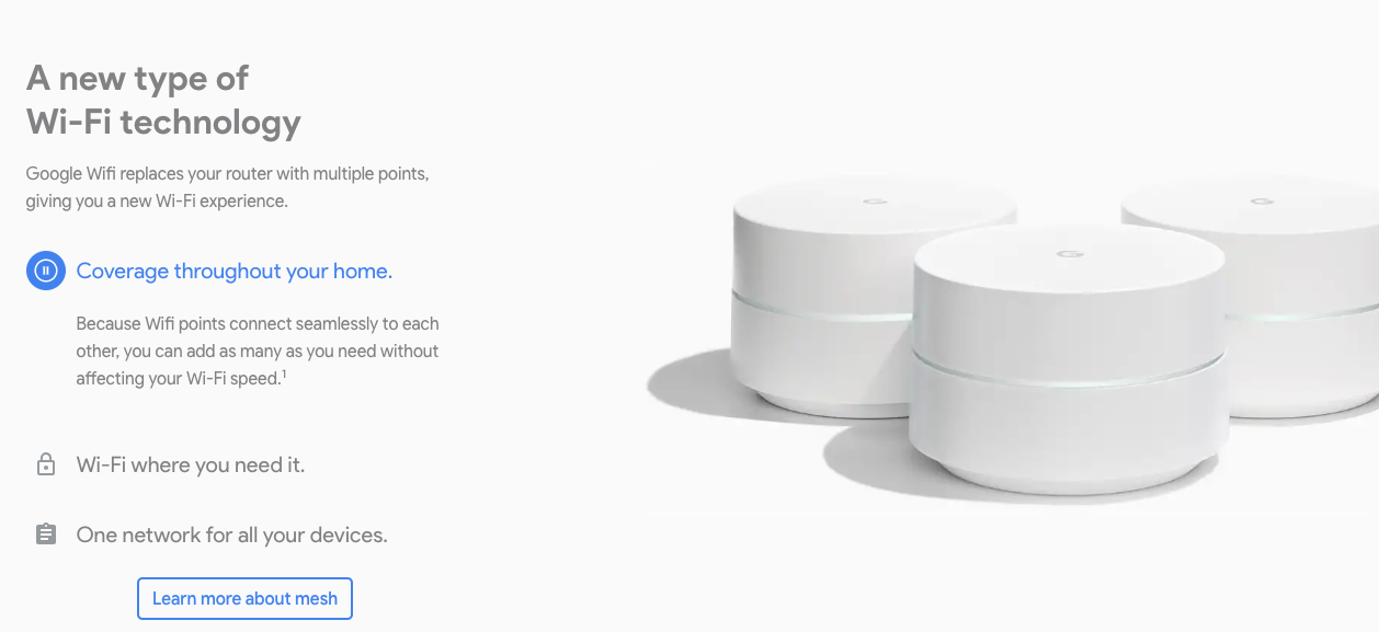 Google Wifi - Overview